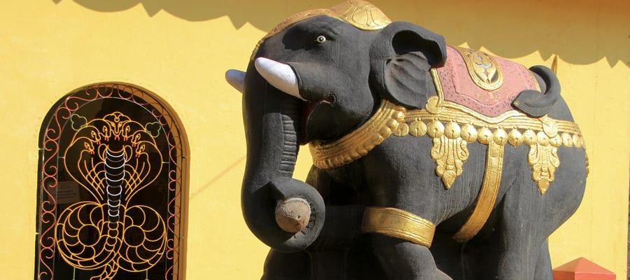 Elephant Statue on Cruises to Mangalore