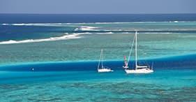 Paseo en el catamarán y chapuzón