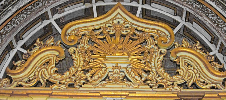 L'intérieur de la cathédrale de Sé lors d'une croisière à Mormugao Goa