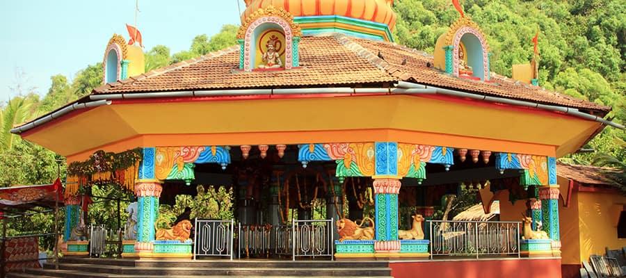Querim à Goa, Inde, lors d'une croisière à Mormugao Goa