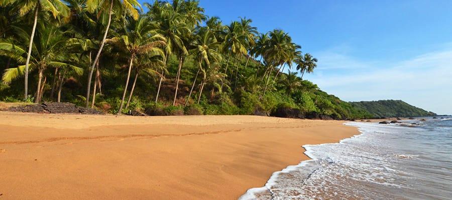 Pristine Beaches on Mormugao Goa Cruise