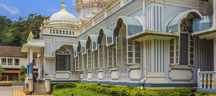 Shri Mangeshi temple on Cruises to Mormugao Goa