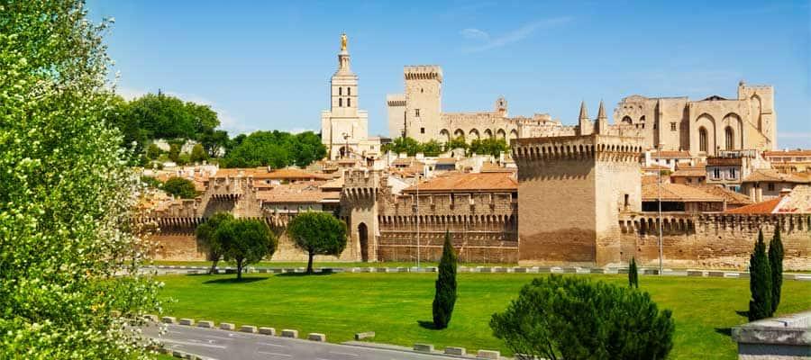 Sehen Sie Les Baux de-Provence in der Provence