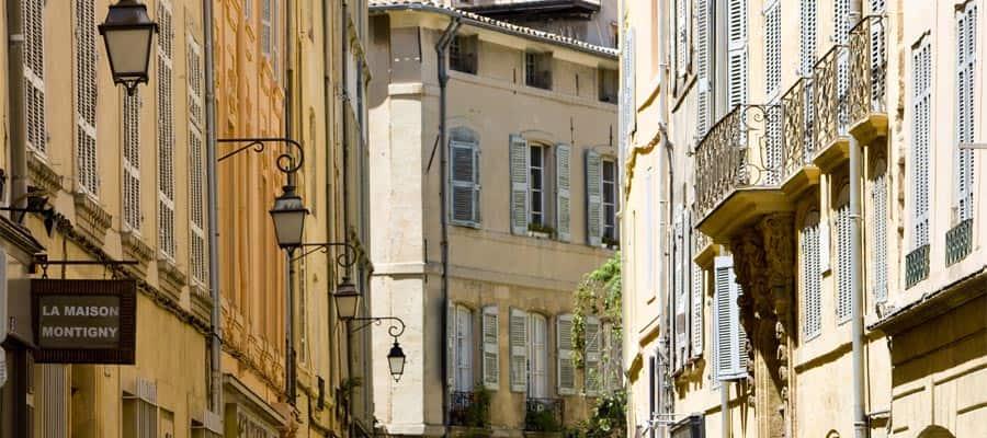 Machen Sie eine Kreuzfahrt in die Provence und sehen Sie Aix-en-Provence