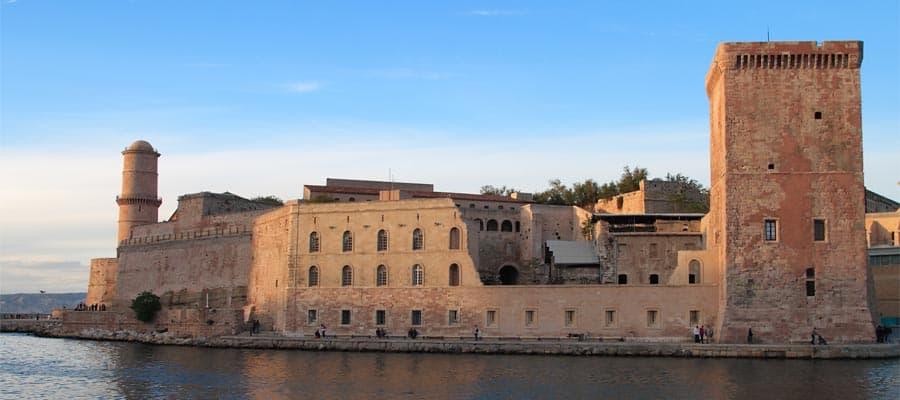 Kreuzfahrt nach Frankreich Marseilles in der Provence