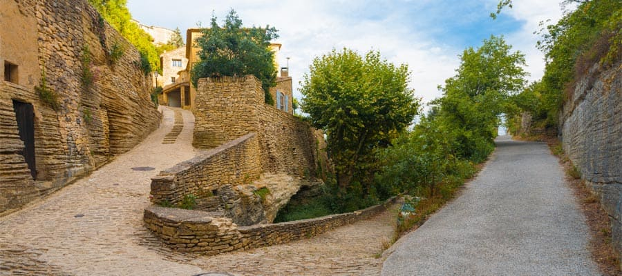 See Medieval village of Gordes on Provence cruises