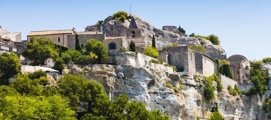 Les Baux de-Provence, Provence-Kreuzfahrten