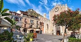 Taormina und sizilianisches Weingut