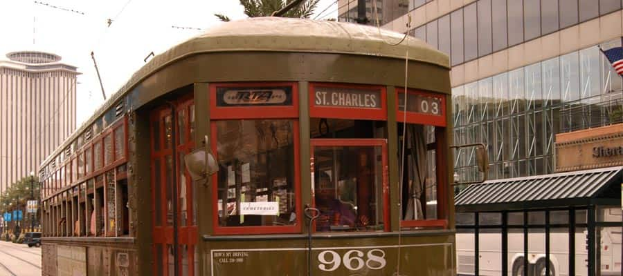 Trolly in New Orleans