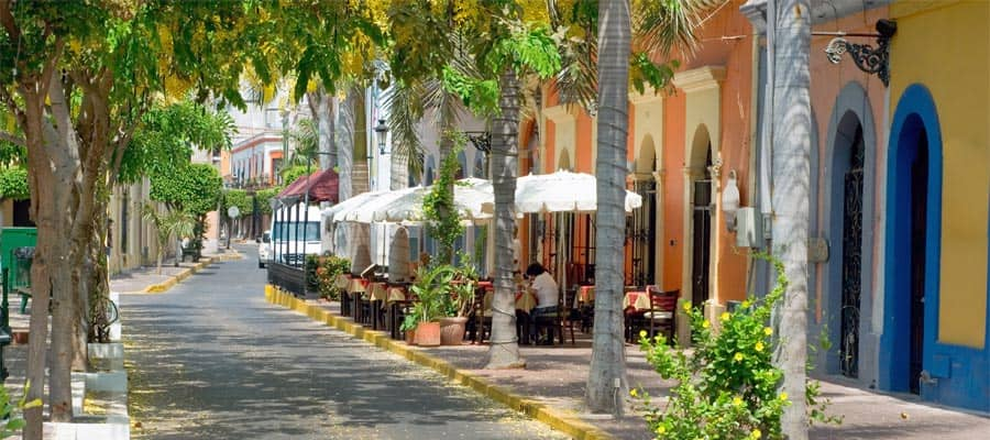Historic District in Mazatlan on your Mazatlan cruise