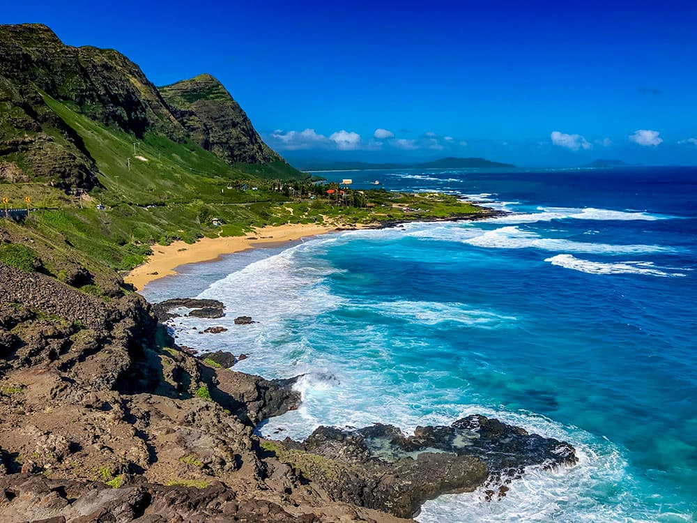 Hiking at Makapu'u Point – Oahu