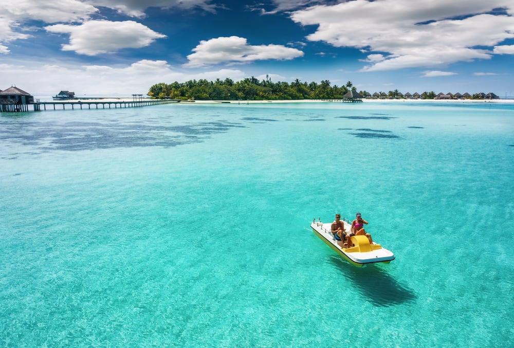 Pristine Beaches in The Maldives