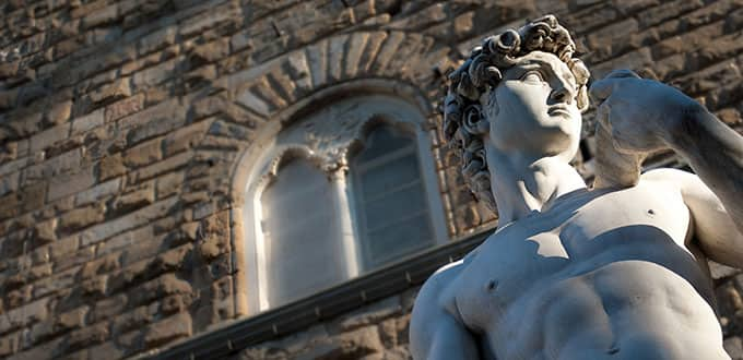 Experience the genius of Michelangelo in Florence.