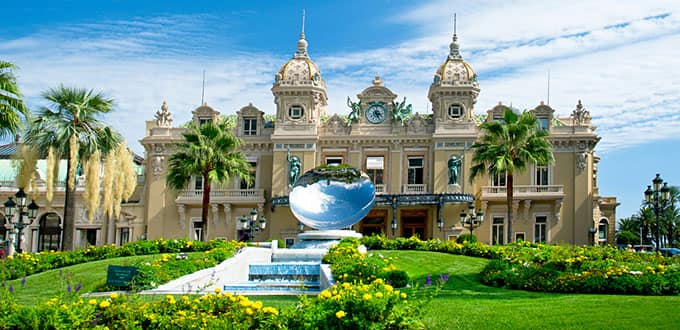Try your luck in Monte Carlo's historical Grand Casino