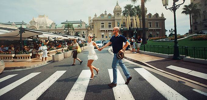 Explore the twisting streets of Monaco at your own speed