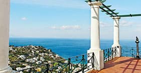 Capri, Sorrento y Pompeya