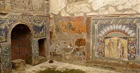 Die Ruinen von Herculaneum