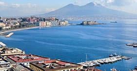 Views of Naples & Culinary Excellence