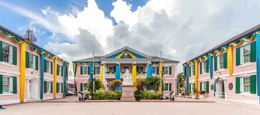 Don't forget to visit Parliament Square on your Bahamas cruise
