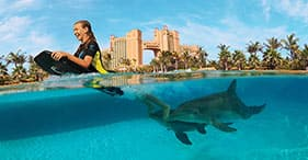 Atlantis Aquaventure & Dolphin Cay Swim