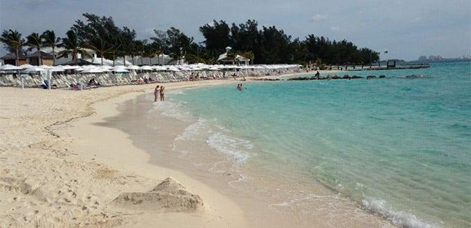 Nassau Bahamas Balmoral Island Beach Break Excursion