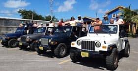 Jeep-Abenteuer und Strandbesuch