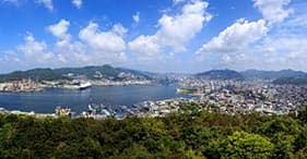 Panoramic Nagasaki
