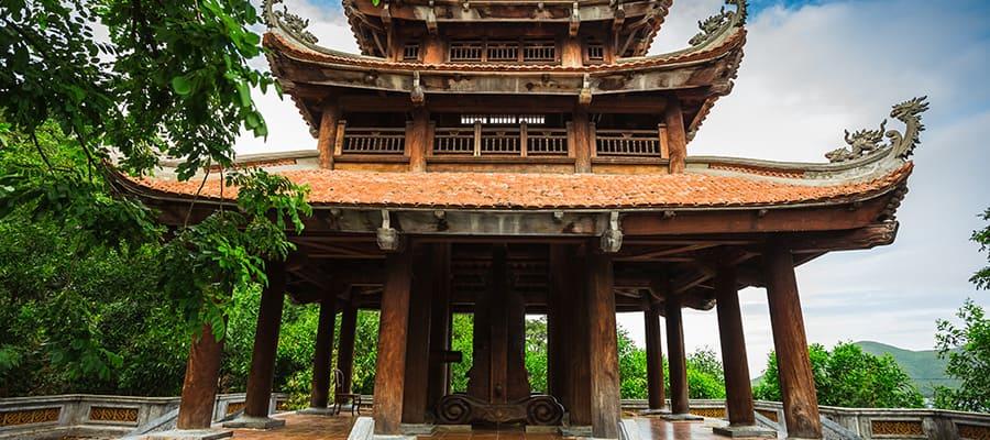 Templo budista en tu crucero a Nha Trang