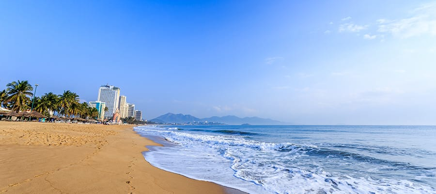 Blue waters of Nha Trang