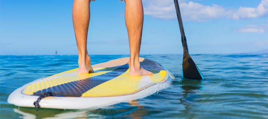 Paddle Boarding on your Weekend cruise