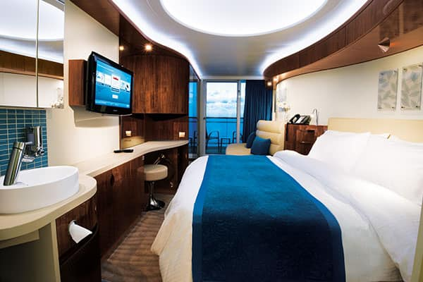 Cabine com varanda no Norwegian Epic