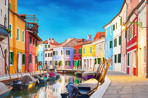 Burano, crociera in Italia