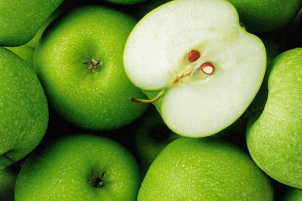 Green Apples available on board