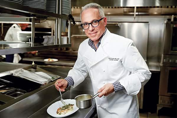 Uma visão privilegiada sobre o famoso chef da Norwegian Cruise Line: Geoffrey Zakarian