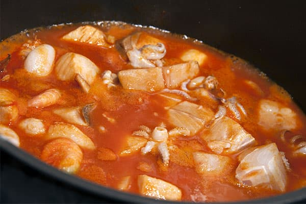 Fish stew on your cruise to the Bahamas