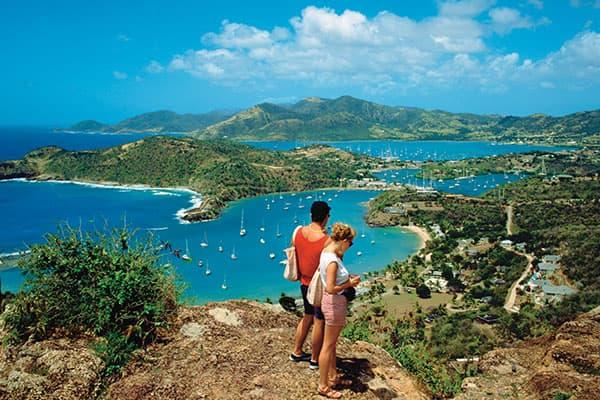 Faites-vous des amis lors d'une randonnée à Tortola