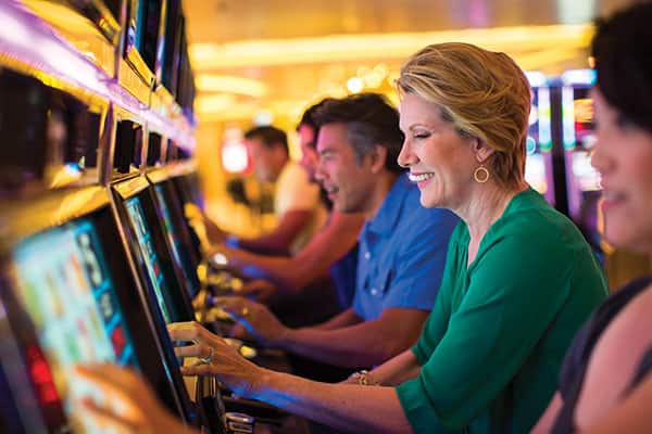 Poker Machines are an easy way to have fun in the Casino