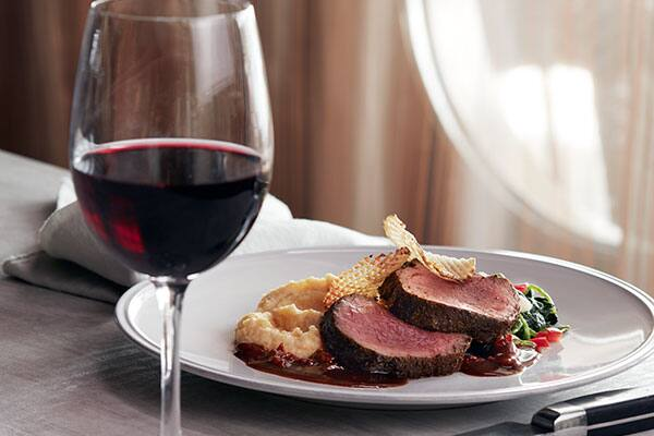 Cruise Ship Dining Room's Spice Rubbed Beef Tenderloin