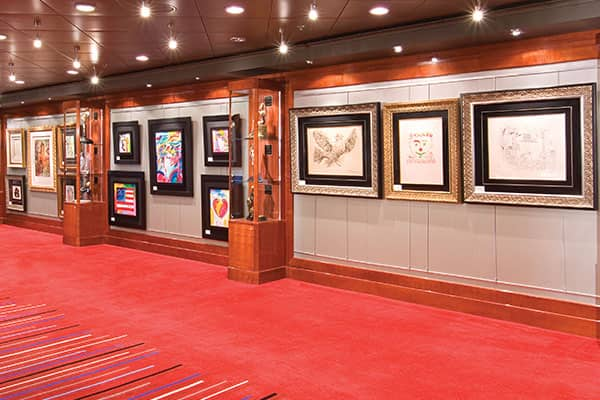 Art on a Cruise