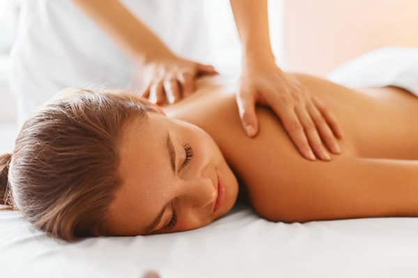 Relax with a massage in Mandara Spa