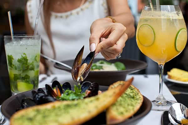 Try mussels on a Europe Cruise