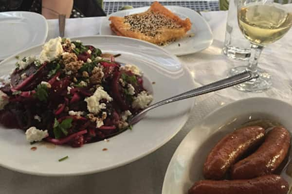 Experience Greece's fantastic cuisine in Athens