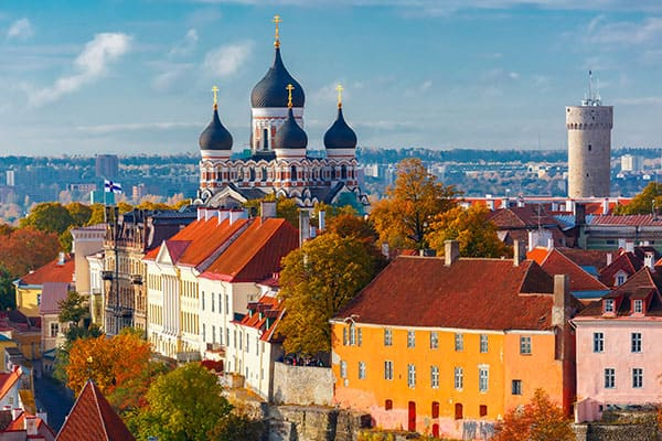 Visit Toompea Hill when you cruise to Talinn, Estonia