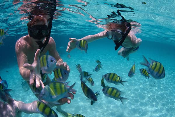 Scuba on your Grand Bahama cruise