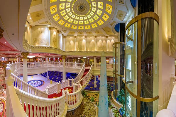 Atrium on Pride of America