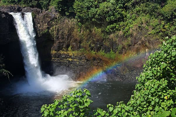 Rainbow Falls in Ihrem Hawaiiurlaub