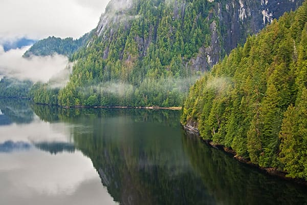 Haz un crucero al Misty Fjords National Monument