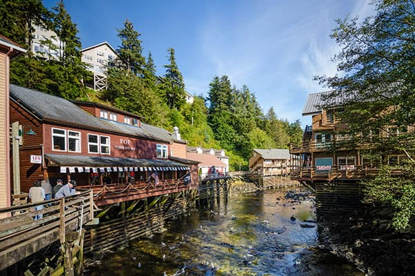 Cruise to Ketchikan's Creek Street