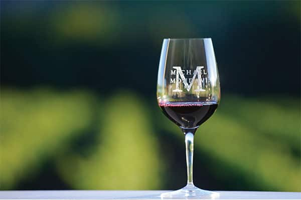 The Michael Mondavi Family Wine Glass