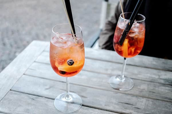 Try an Aperol Spritz when cruising to Italy
